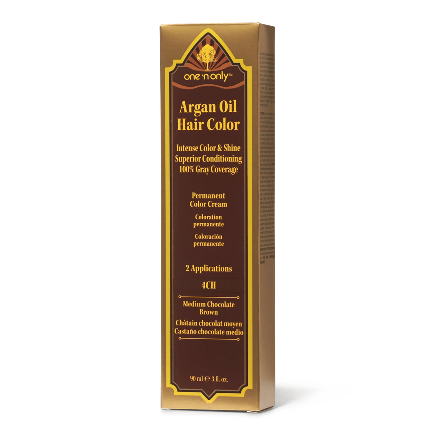 The Best One N Only Argan Oil 4Ch Medium Chocolate Brown Permanent Pictures