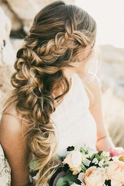 The Best Unique Hair Styles Wedding Braid Pictures