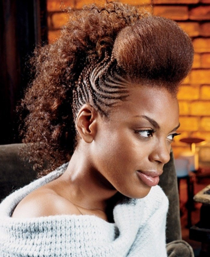 The Best 15 Foremost Braided Mohawk Hairstyles Mohawk With Braids Pictures