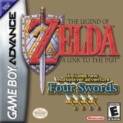 Legend Of Zelda  The   A Link To The Past Four Swords   Gameboy     Legend Of Zelda  The   A Link To The Past Four Swords