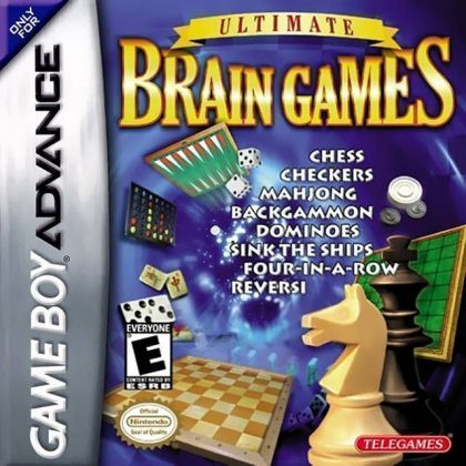 Ultimate Brain Games   Gameboy Advance GBA  ROM Download Ultimate Brain Games