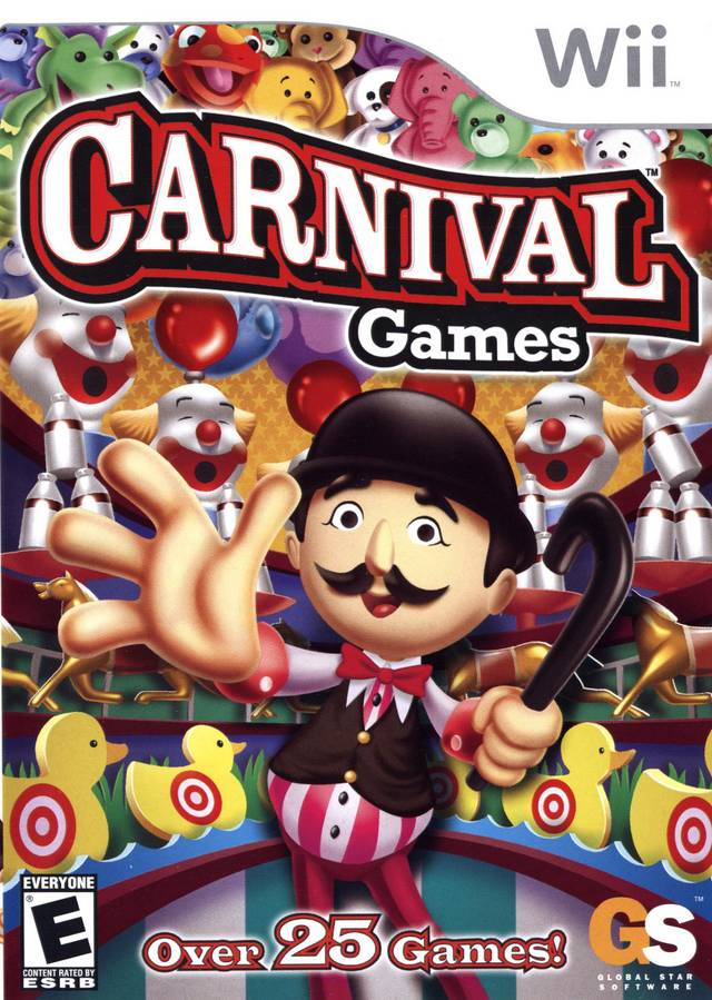 Carnival Games   Nintendo Wii Wii ISOs  ROM Download Carnival Games