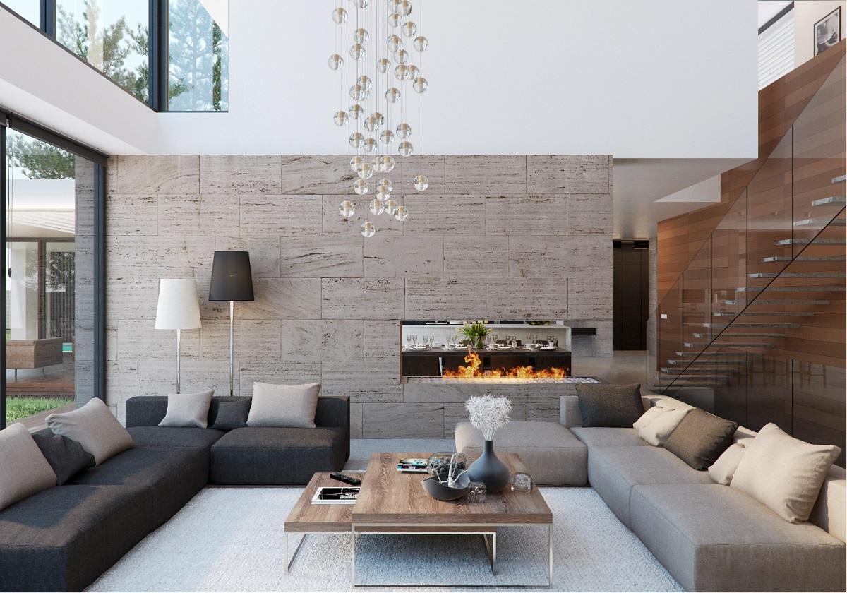 Modern Homes Interior Decorating Ideas