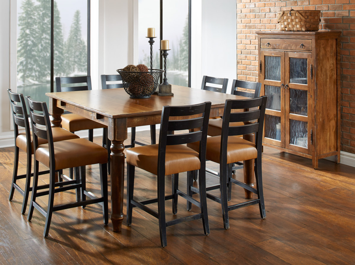 Rustic Wood Dining Room Sets
