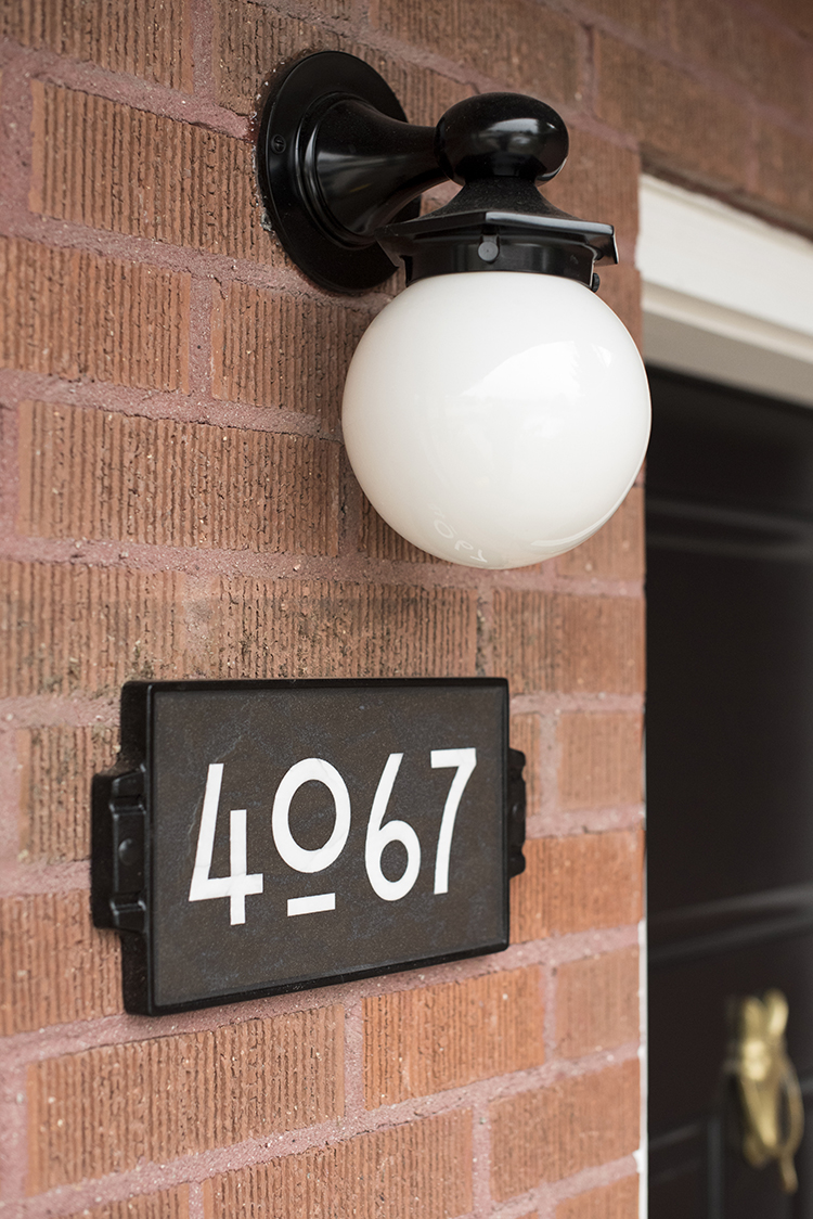 How to Choose House Numbers   Room for Tuesday the best house numbers for your house style