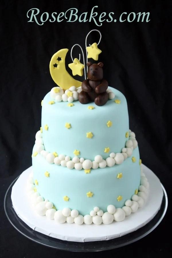 Wilton Baby Moon Cake