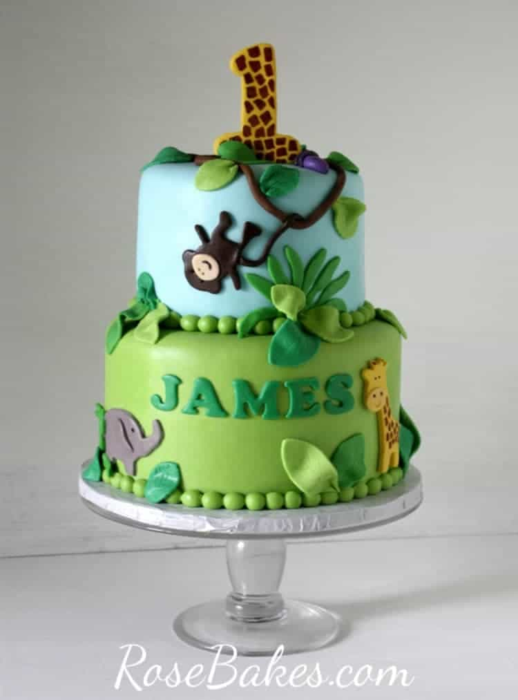 Theme Ideas Jungle Cake