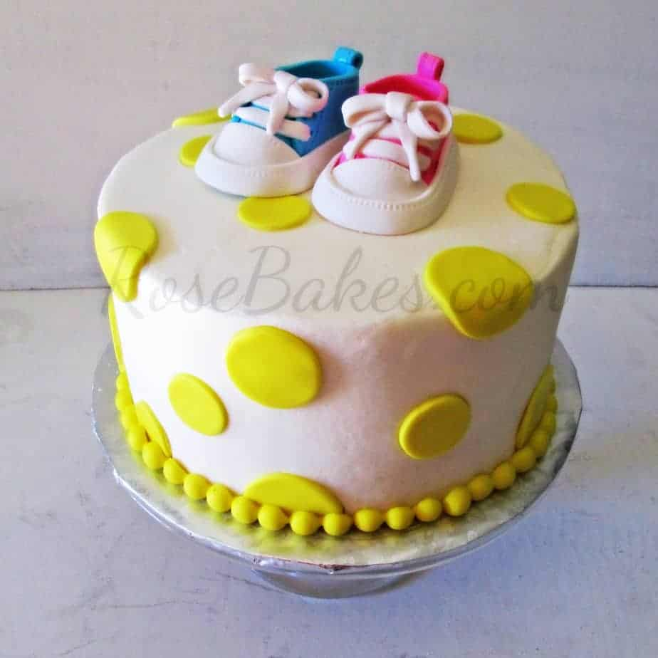 Types Cakes Baby Shower