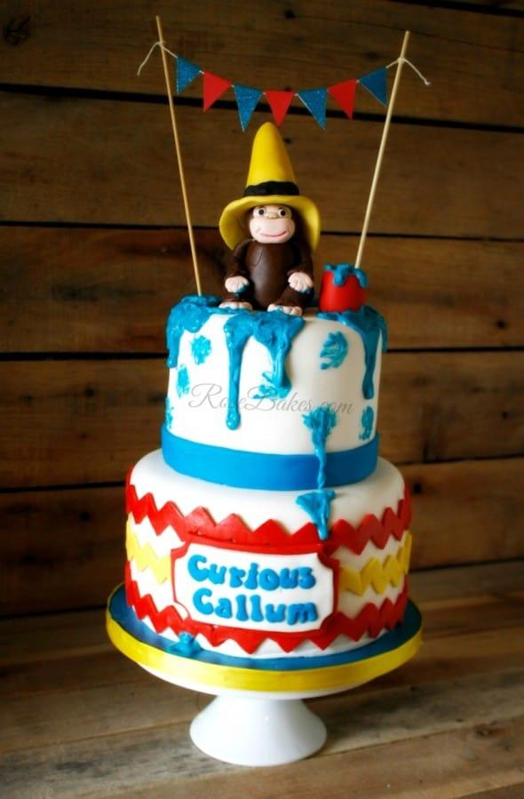 Cake Curious Stencil George