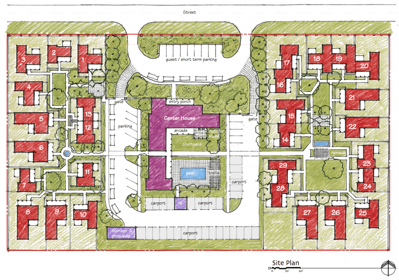 Site Planning Ross Chapin Architects