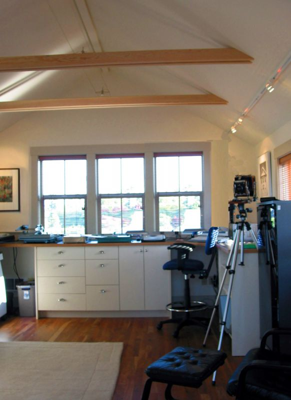 Justenuf Garage Studio Ross Chapin Architects