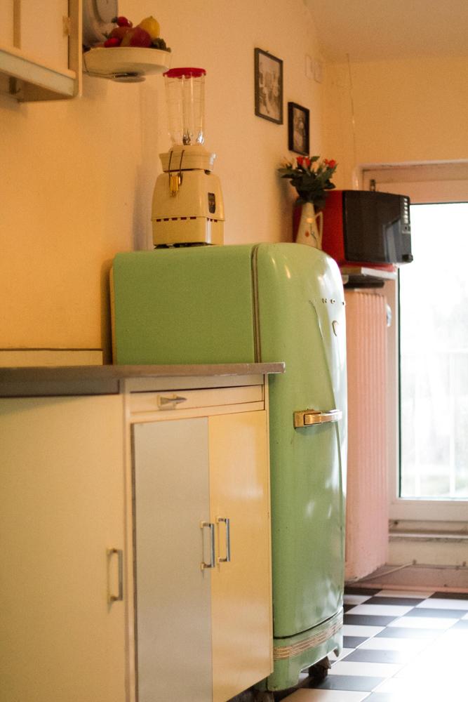Rote Lola 50er Jahre Küche