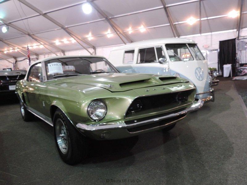 Green Mustang Gas Monkey Garage