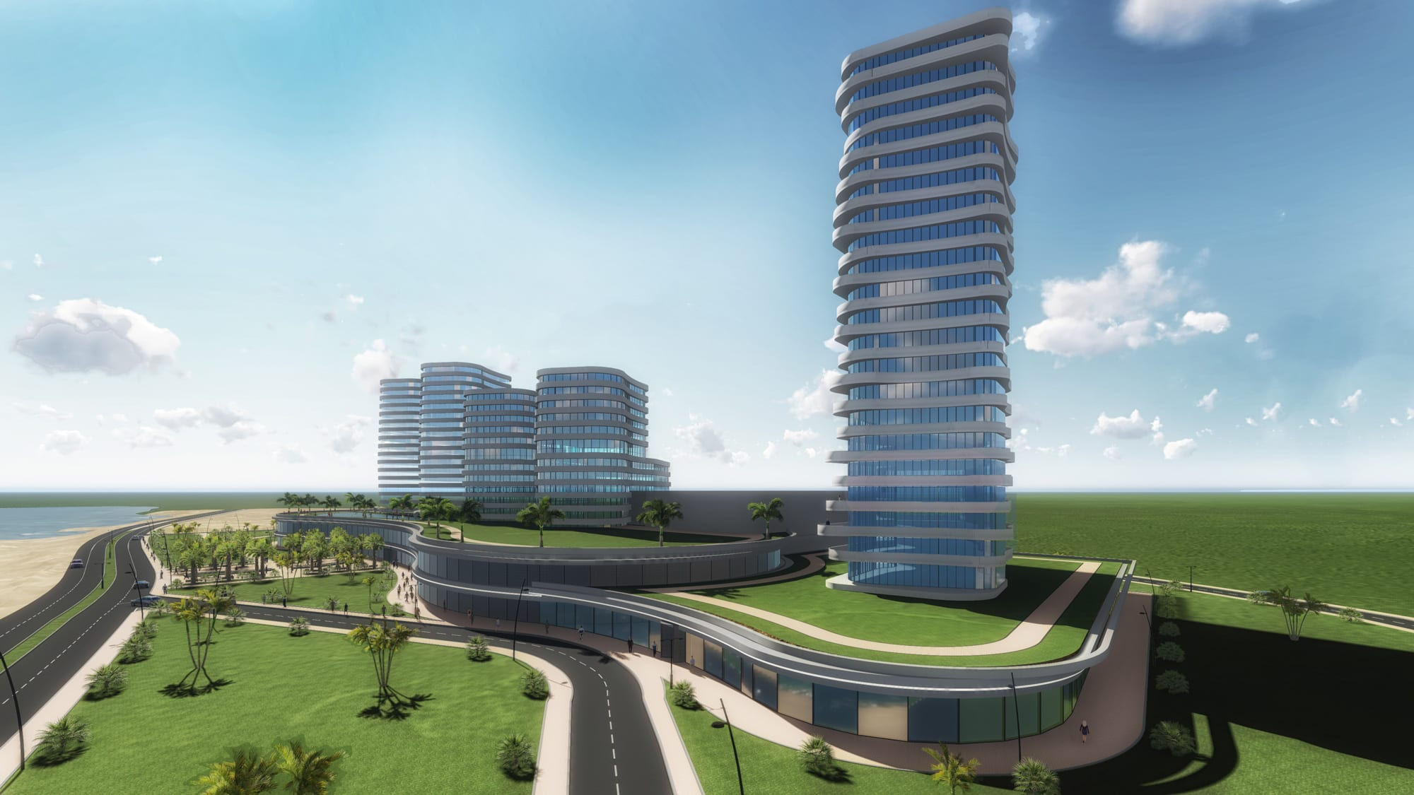 Shopping Mall Amp Office Building Mozambique Rt Consult