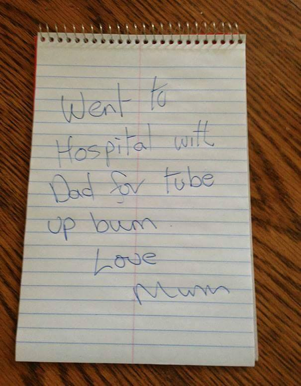 Good Notes Home Parents