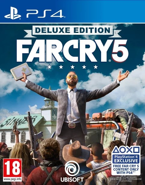 Ps4 Games   Buy Ps4 Games Online at India s Best Online Shopping     Far Cry 5  Deluxe Edition
