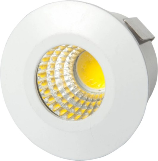 PUFFIN LED 1w COB Round Panel Ceiling Light  Color of LED Warm White     PUFFIN LED 1w COB Round Panel Ceiling Light  Color of LED Warm White  PACK