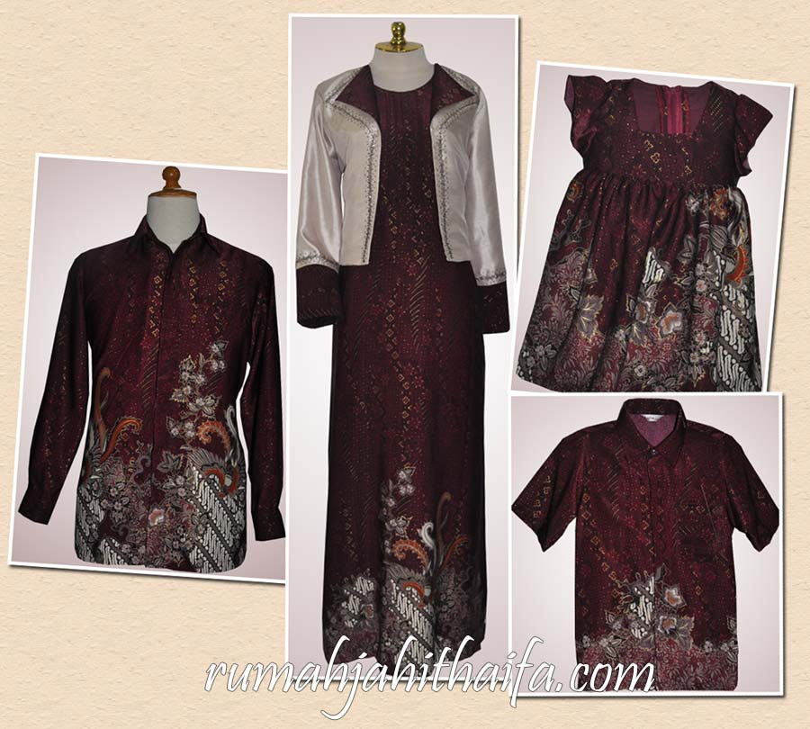 Image Result For Model Gamis Batik Aplikasi Polos