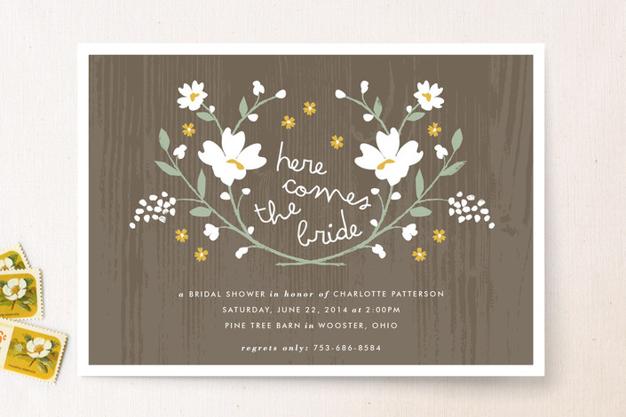 Vintage Country Invitations