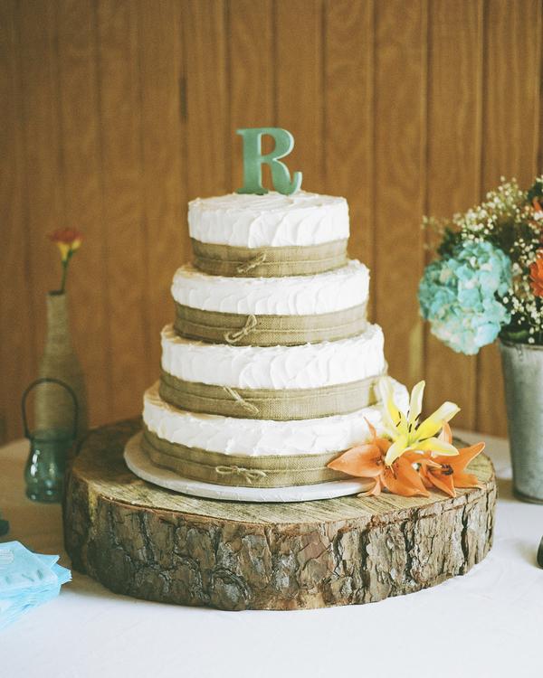 Rustic Floral Wedding Invitations