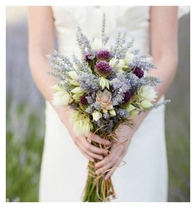 Lavender Wedding Color Inspiration Rustic Wedding Chic