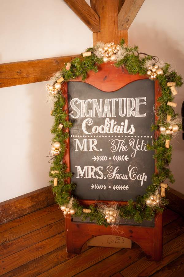 Holiday Barn Wedding Rustic Wedding Chic