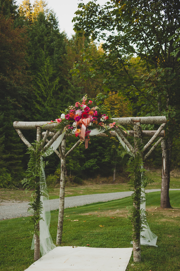 Rustic November Wedding