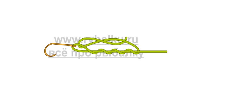 釣りノード - フックを血の最愛の写真3に綴じる方法3