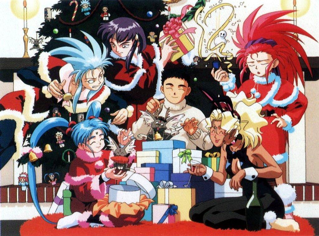 Merry Christmas Ryo Ohki S Anime Loft