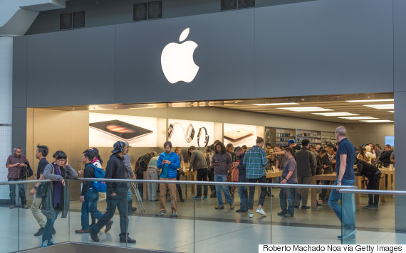 Apple Canada Prices Hiked As Dollar Slumps apple store toronto