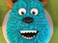 17 Best Images About Monsters Inc University Cake Ideas