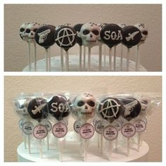 1000 Images About Sons Of Anarchy Theme Party On