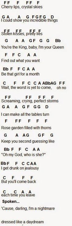 Years Love Guitar Chords