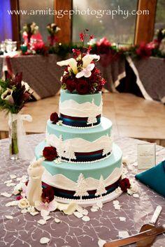 Mountain Themed Wedding Cake Wedding Ideas H Amp R 2012