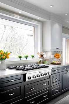 Kahn Design Group Window Behind The Stove K Remove The