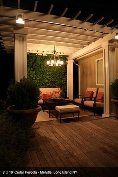 1000 Images About Pergola Lighting On Pinterest Pergola