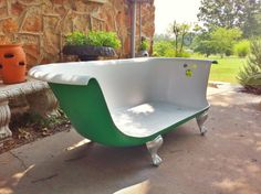 Remember The Clawfoot Bathtub Sofa From Breakfast At