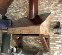 Outdoor Grill Exhaust Hood Could Do This And Clad It In