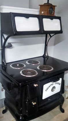Country Charm Cast Iron Electric Stove Electric Stove