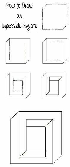 Drawable Optical Illusions