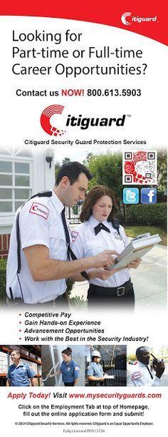 Security Guard Hiring Now