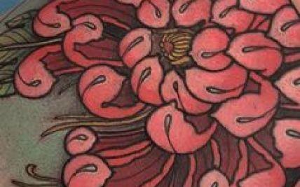ead757533 Traditional Chrysanthemum Flowers Tattoo | Gardening: Flower and ...