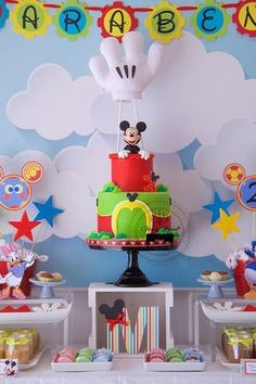 Mickey Mouse Hand Template Bing Images Decorated