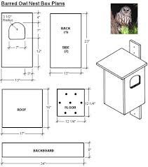 Plans For Barn Owl Box - WoodWorking Projects & Plans
