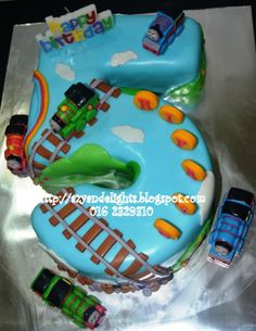 1000 Images About Birthday Cakes On Pinterest Train