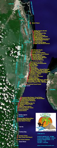 Mayan Grand Resort Map Maya Riviera Resort