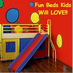 1000 Images About Kids Bed With Slide And More On