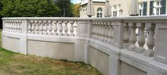 Cement Ballisters And Railing Home Balustrades Balusters