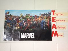 Captain America Shield Hallway Bulletin Boards And