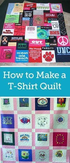 Easy T Shirt Quilt Patterns Beginners
